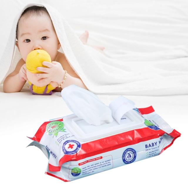 Combo 2 Khăn giấy ướt Baby 80g