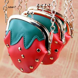 Túi đeo chéo hình quả dâu dễ thương cho bé gái thumbnail