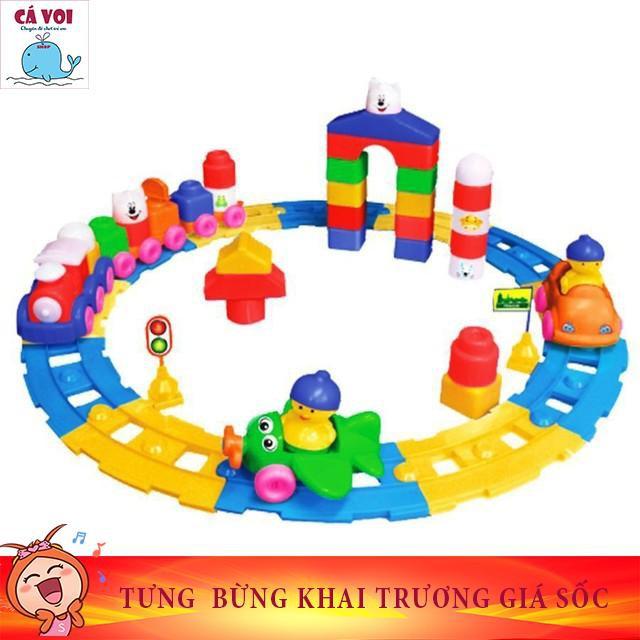 Đồ chơi xếp hình trẻ em Nhựa Chợ Lớn 08 - M1009-LR
