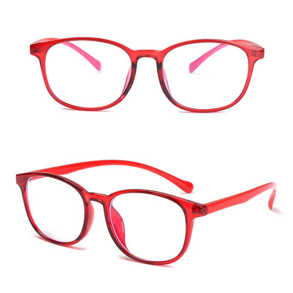 💎OKDEALS💎 Fashion Kids Glasses Portable Ultra Light Frame Comfortable Eyeglasses TR90 Online Classes Computer Children Boys Girls Eye Protection Anti-blue...