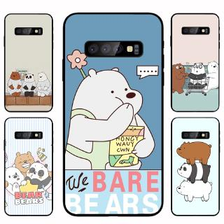 Ốp Lưng Mềm In Hình We Bare Bears Cho Samsung S8 S8 Plus S9 S10 S10 + Note8 Note9 Note10 10 +