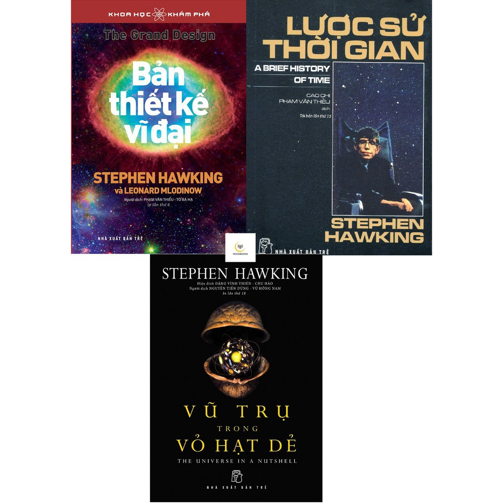Combo Sách Của Tác Giả Stephan Hawking
