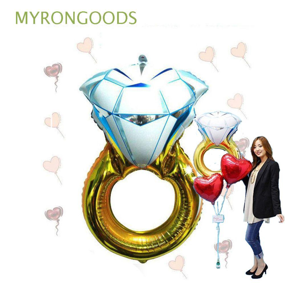 72*46cm Wedding Hot Favors and Lover Large Propose Helium Balloon