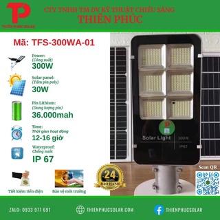 Đèn Bàn Chải 300W NLMT (Loại 1) CTY Thiên Phúc Solar