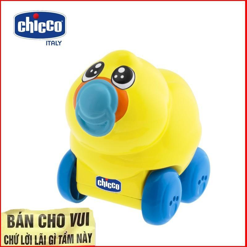 [HÀNG THẬT] Đồ chơi lăn bánh phát nhạc hình Vịt con Chicco