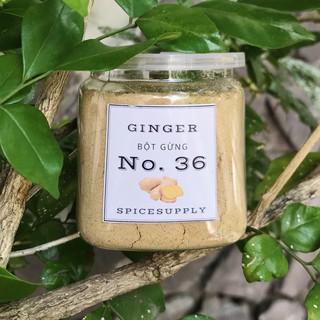 Yêu Thích[Mã GROMS25 hoàn 10% đơn 199K] Ginger powder - Bột Gừng nguyên chất không pha trộn loại A giảm mỡ