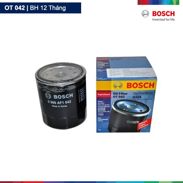 Lọc nhớt dầu Bosch OT 042 - 2606877 , 796664888 , 322_796664888 , 119000 , Loc-nhot-dau-Bosch-OT-042-322_796664888 , shopee.vn , Lọc nhớt dầu Bosch OT 042