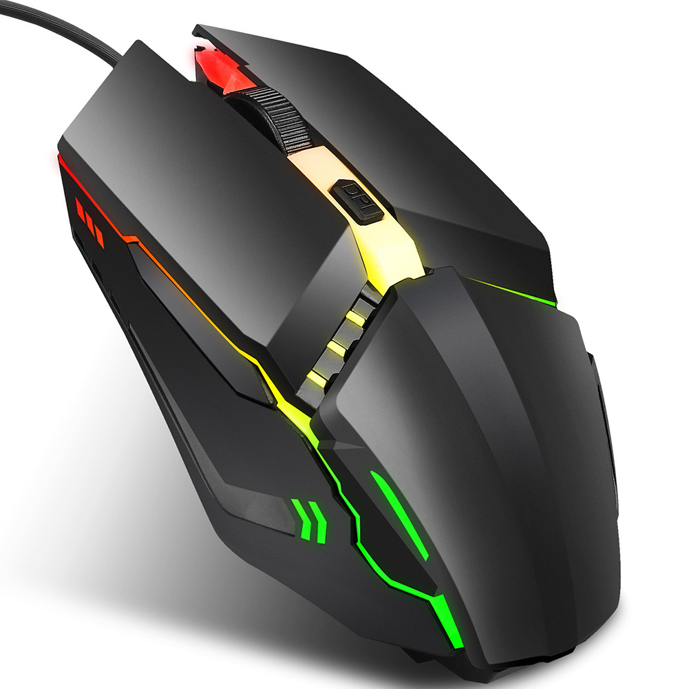 Chuột Chơi Game Có Dây Kết Nối Usb Cho Máy Tính / Laptop