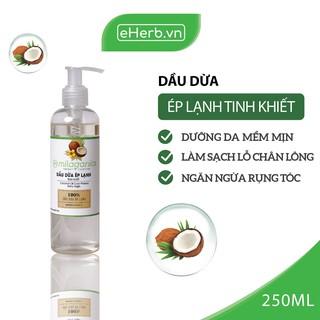 Dầu Dừa Ép Lạnh Tinh Khiết Nguyên Chất Dưỡng Da - Tóc - Môi MILAGANICS 250ml (Chai) thumbnail