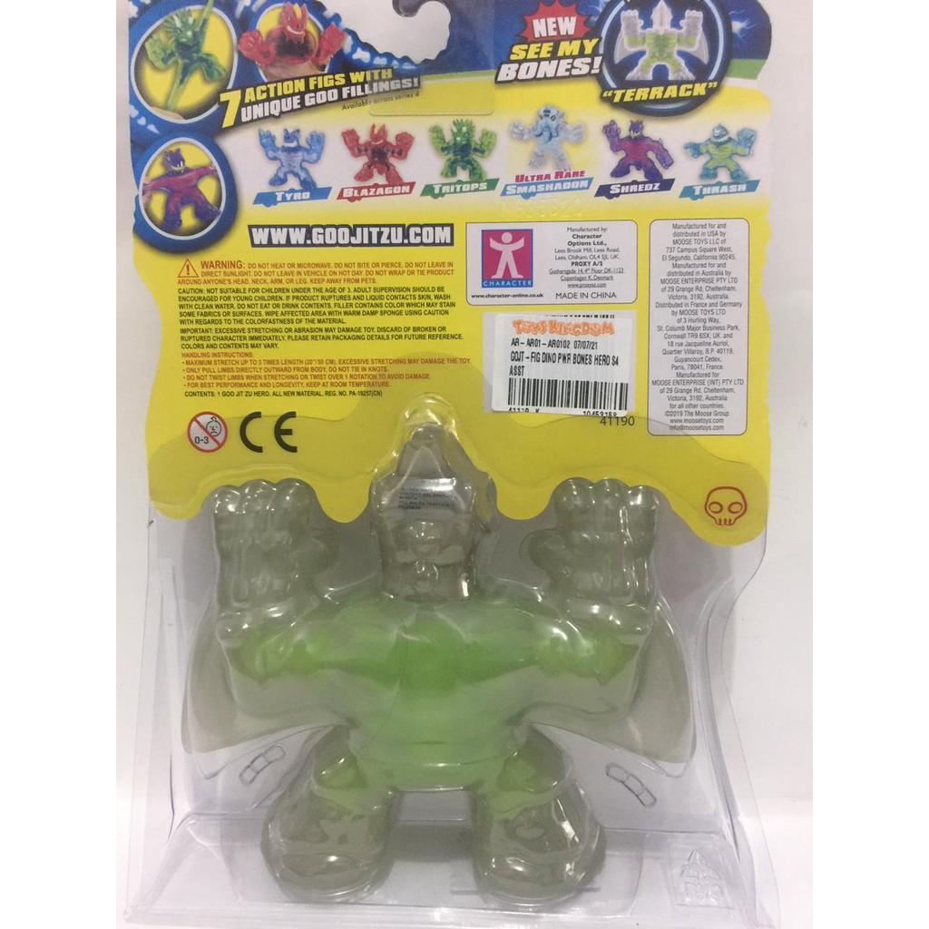 Mô hình nhân vật siêu anh hùng 4 Dino X-Ray Terrack