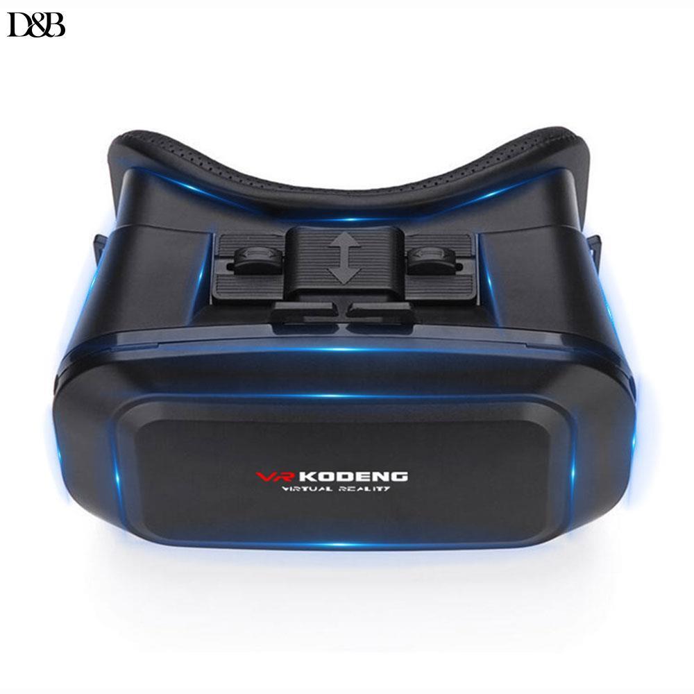 ❤Donba 3D VR Glasses Travel Virtual Reality Glasses Portable VR Headset Glasses Home Movies KODENG
