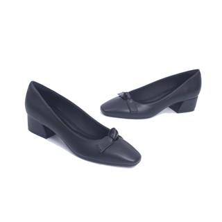 Giày Cao Gót 3cm Mũi Vuông Nơ nhỏ Pixie X663 thumbnail