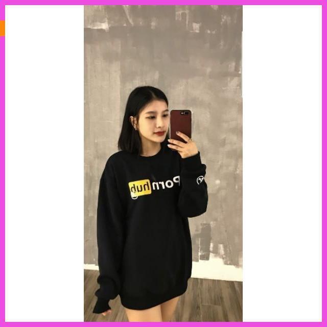 [ Sale 50% ] ÁO SWEATER PORNHUB UNISEX phong cách trẻ trung,năng động, style korea