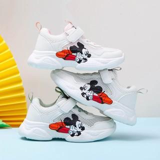 Giày thể thao đế dày họa tiết hoạt hình cho bé