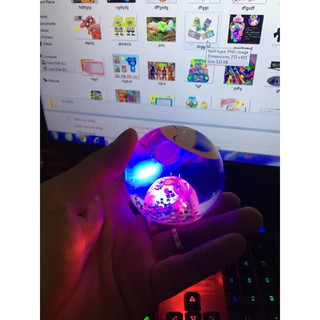 Bóng đồ chơi caosu có đèn led nhấp nháy cho bé