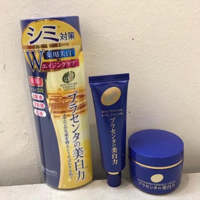 Bộ sản phẩm đặc trị thâm nám - làm trắng da của Meishoku - 14246387 , 1785851266 , 322_1785851266 , 980000 , Bo-san-pham-dac-tri-tham-nam-lam-trang-da-cua-Meishoku-322_1785851266 , shopee.vn , Bộ sản phẩm đặc trị thâm nám - làm trắng da của Meishoku