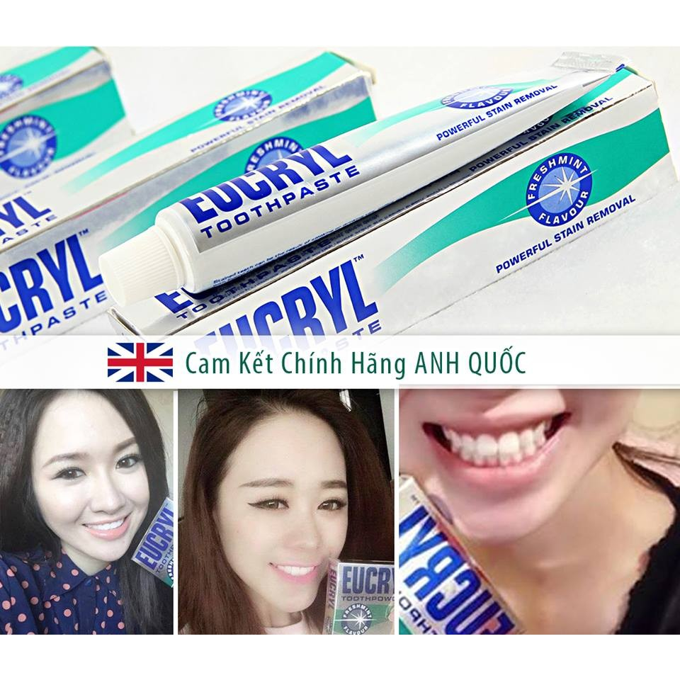 Kem đánh răng Eucryl toothpaste của Anh - 3018446 , 279677390 , 322_279677390 , 85000 , Kem-danh-rang-Eucryl-toothpaste-cua-Anh-322_279677390 , shopee.vn , Kem đánh răng Eucryl toothpaste của Anh