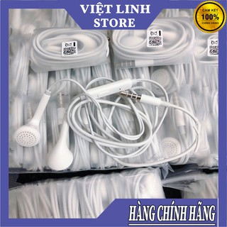 Tai nghe earpods mini oppo - Chính hãng đeo tai - không đau tai - Chip 3IC - Cổng 3.5mm - Hàng Đẹp - Việt Linh Store