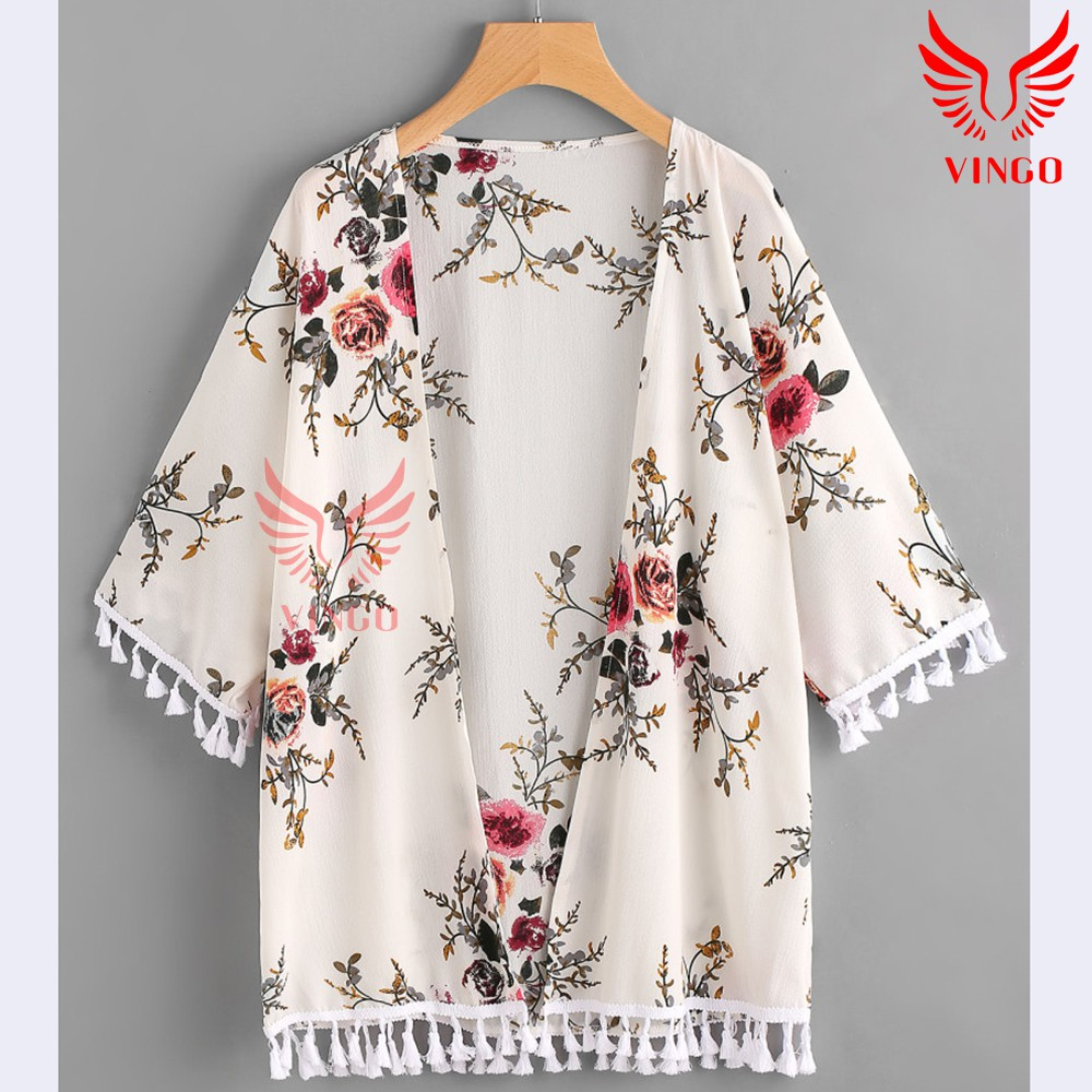 Áo khoác nữ, áo choàng nữ nhẹ, áo cardigan sang trọng Vingo Việt Nam