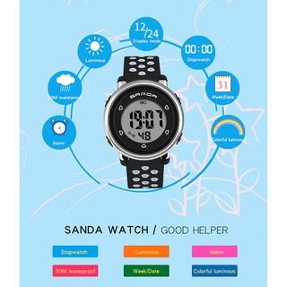 Đồng hồ Trẻ em SANDA JAPAN, Thương hiệu Cao Cấp Của Nhật, Chống Nước Tốt 7