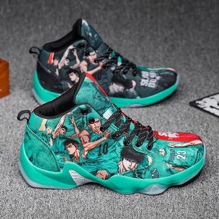 33-47 Giày bóng rổ cao cổ chân cho nam giới Chạy bộ Huấn luyện viên Anime Cặp đôi Giày thể thao