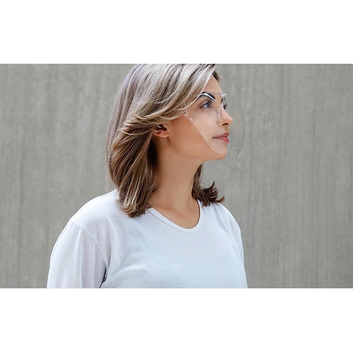 ✨Hàng Loại 1 cỡ chuẩn ✨Kính Chống Giọt Bắn Phòng Dịch Bảo Hộ Full Face Trong Suốt - Mặt Nạ Chống Dịch Chống Bụi