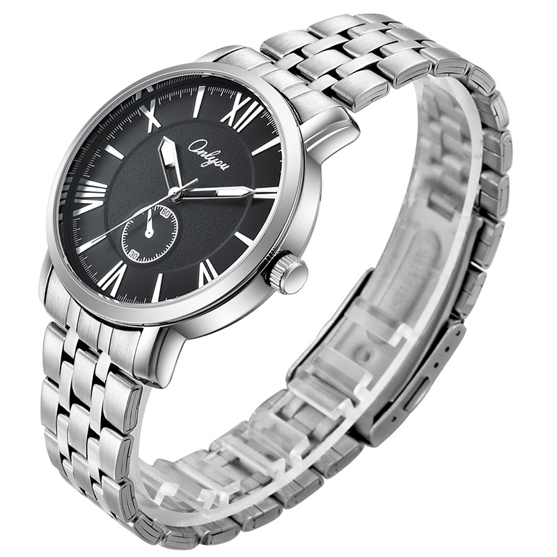 Đồng hồ Onlyou Nam 81031GB Dây thép không gỉ 41.5mm