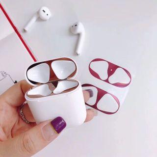 Miếng dán xi bóng cho nắp hộp tai nghe Airpod Apple