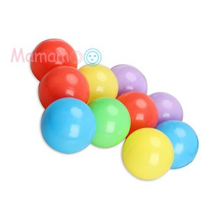 10pcs 8cm Soft Plastic Ocean Ball Colorful Ball Fun Ball Kids Swim Pit Toys
