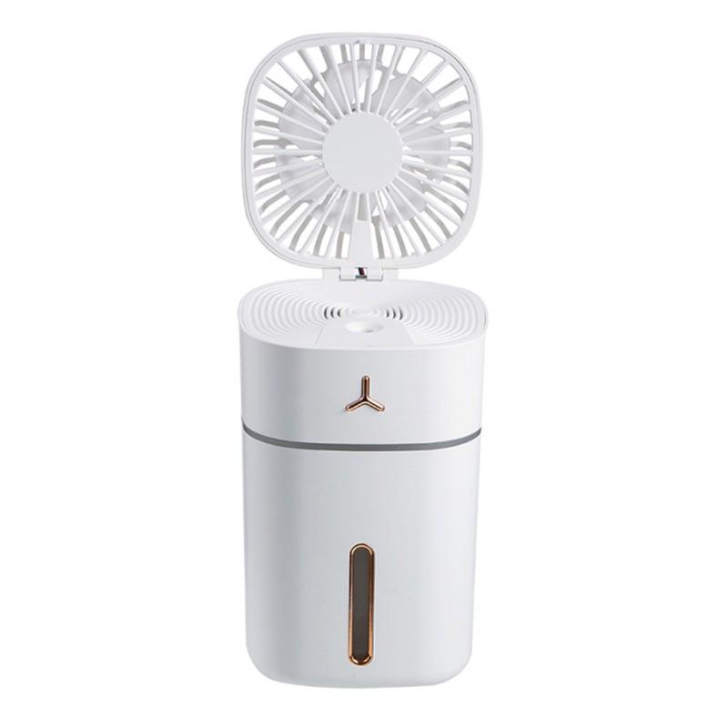 Quạt phun sương sạc USB mini có thể gấp gọn và cầm tay tiện lợi