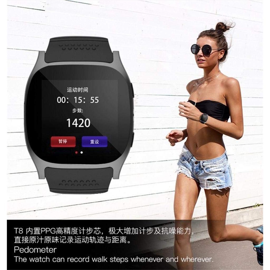 Đồng Hồ Thông Minh Đa Chức Năng Theo Dõi Sức Khoẻ Cho Điện Thoại Ios Android
