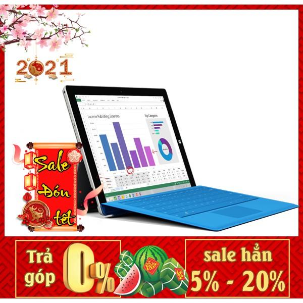 Máy tính bảng Microsoft Surface 3 - Chip Intel   Ram 4/64G   Phiên bản lắp sim   giá siêu tốt Tại Playmobile