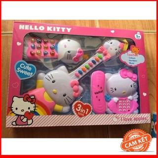 [HÀNG THẬT] Bộ 3 nhạc cụ Kitty #1203