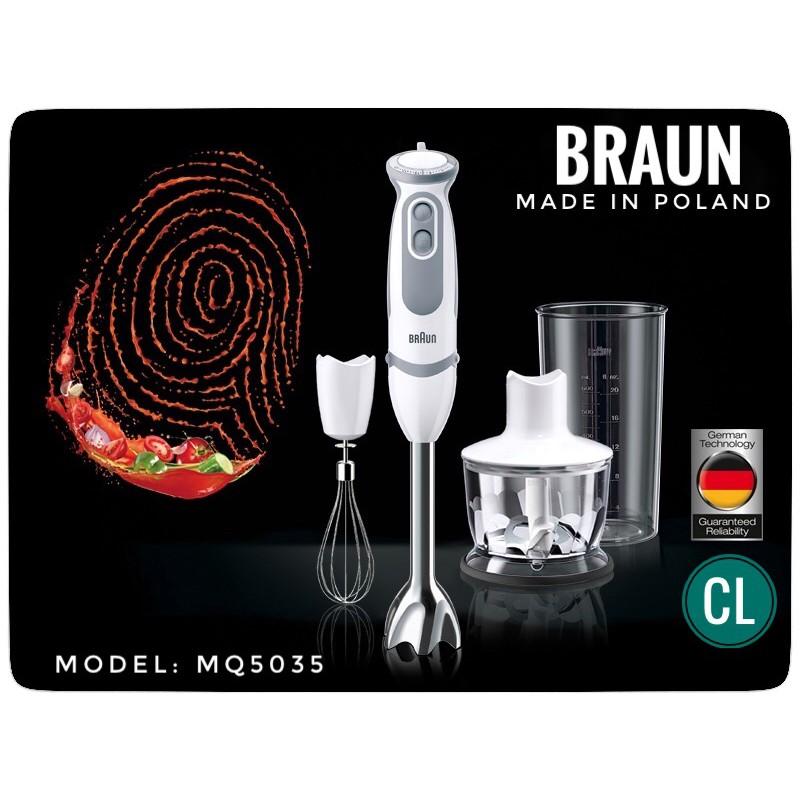 Hàng chính hãng- Máy xay cầm tay Braun MQ5035-[MA HOMEMALL12 GIAM 10%]
