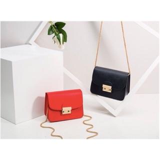 Túi xách nữ kiểu dáng chất lượng cao mẫu mã mới-da mềm màu sắc tươi sáng dây đeo bền-nhỏ xinh tiện dụng