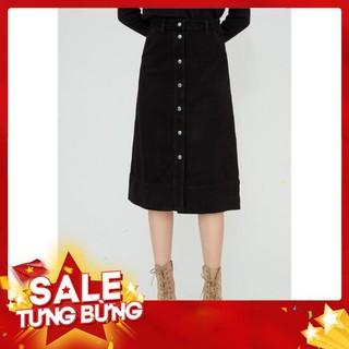 Chân váy jean cúc giữa – 20Again -Hàng nhập khẩu