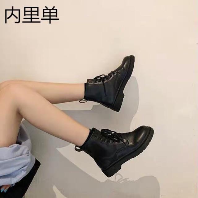 Boot da đế thấp bao chất bao ngầu cho các nàng cá tính