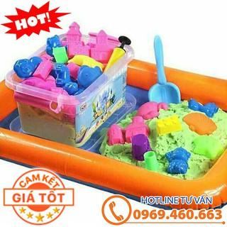 Bộ đồ chơi Cát động lực tăng khả năng sáng tạo cho bé. Đồ chơi cát động lực cho bé mới nhất. Ucận