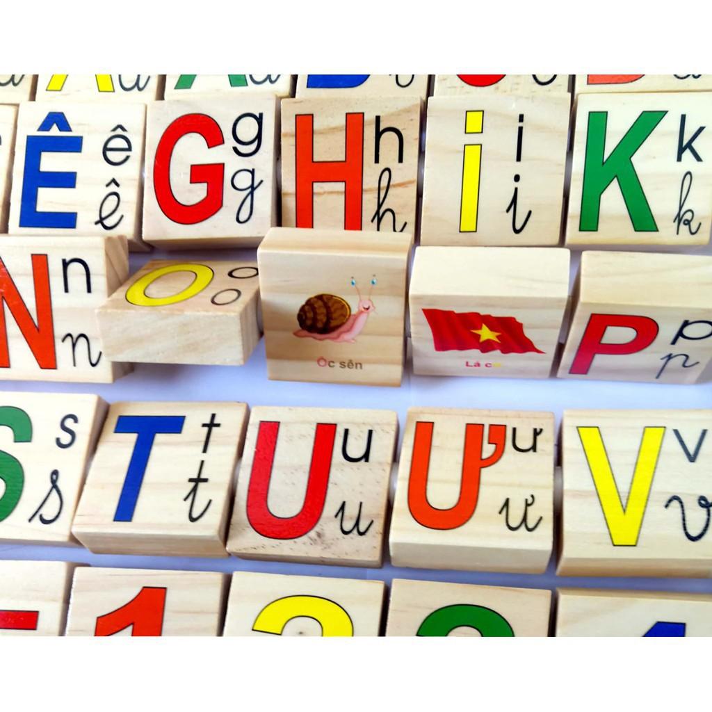 [SALE SẬP SÀN] Bảng chữ số tiếng việt xoay cho bé loại tốt | HÀNG MỚI