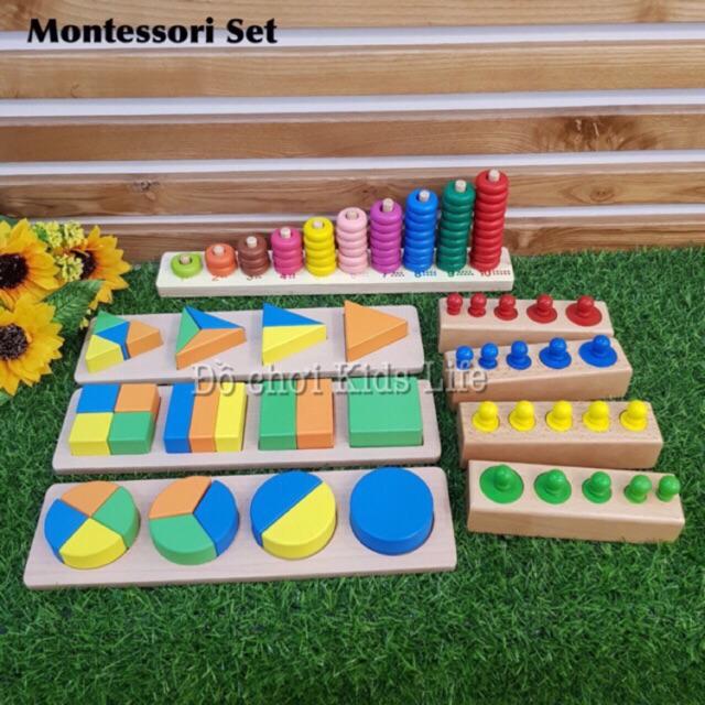 Combo Set giáo cụ Montessori