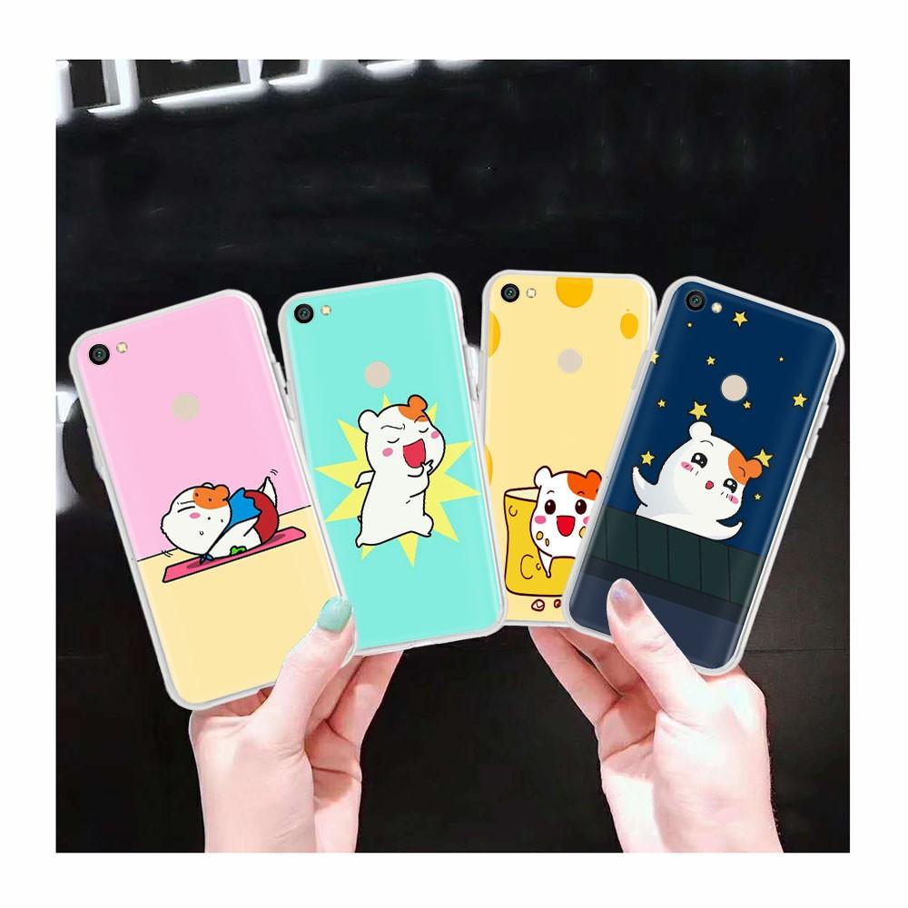 Ốp Điện Thoại Trong Suốt At100 Oruchuban Ebichu Cho Xiaomi Redmi Note 5 Plus 5a Pro S2