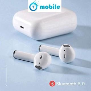 [Mã ELFLASH5 giảm 20K đơn 50K] Tai Nghe Bluetooth i12 5.0 Cảm Ứng Cực Nhạy Tăng Chỉnh Âm Lượng 1 Đổi 1 Trong 30 Ngày