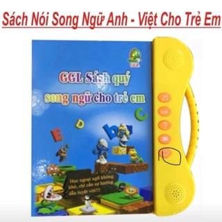 Sách nói song ngữ Anh Việt cho bé