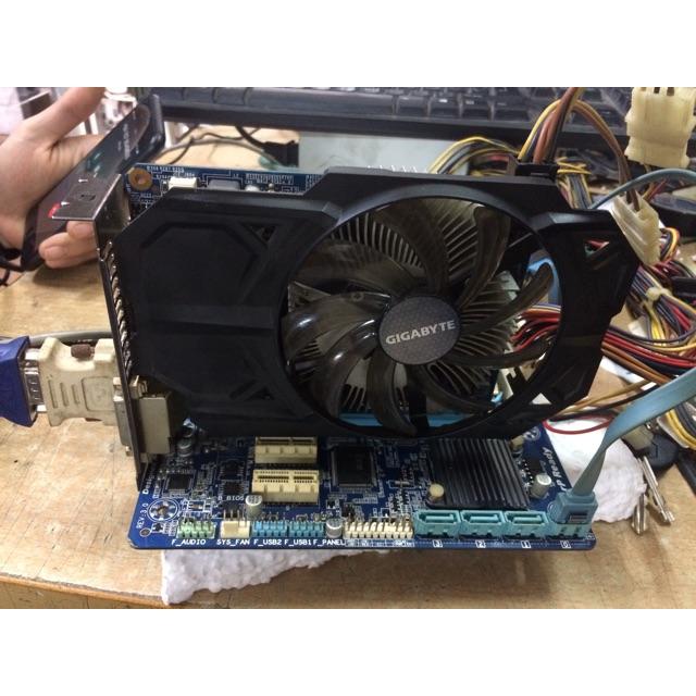 VGA Giga GTX 750 1gb ddr5 128bit bảo hành 3 tháng lỗi 1 đổi 1 chiến max setting các loại game