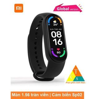 [BẢN QUỐC TẾ] Đồng hồ thông minh Xiaomi Mi Band 6 chính hãng Miband6 thumbnail