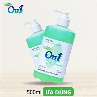 COMBO 2 chai Nước rửa tay sạch khuẩn On1 500ml hương White Tea-1