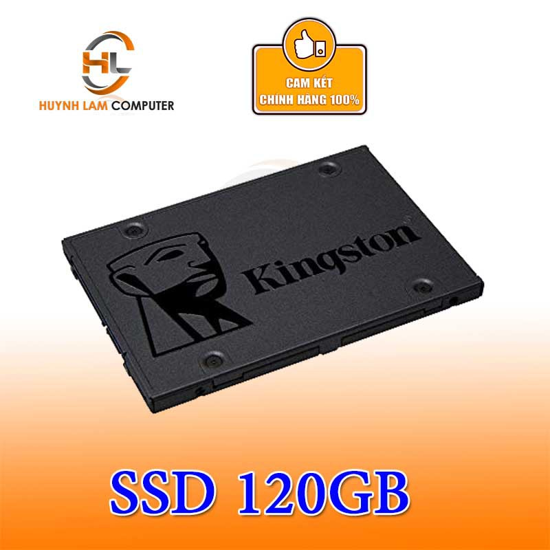 Ổ cứng SSD 120GB Kingston A400 chính hãng Vĩnh Xuân/Viết Sơn phân phối - SSD Chính hãng