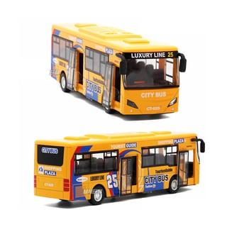 Xe buýt đồ chơi trẻ em màu VÀNG – Xe mô hình xe bus