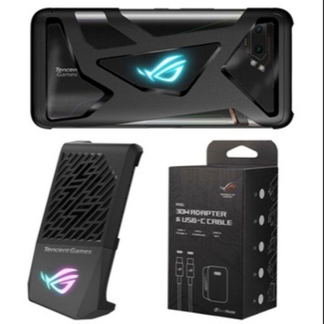 Phụ kiên Case, Sạc 30W, Quạt tản nhiệt Asus Rog Phone 2 đậm chất game thủ