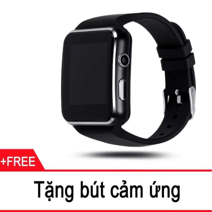 Đồng Hồ Thông Minh Màn Hình Cong SmartWatch SX6 (Đen) tặng kèm bút cảm ứng - 3590402 , 1068146129 , 322_1068146129 , 339000 , Dong-Ho-Thong-Minh-Man-Hinh-Cong-SmartWatch-SX6-Den-tang-kem-but-cam-ung-322_1068146129 , shopee.vn , Đồng Hồ Thông Minh Màn Hình Cong SmartWatch SX6 (Đen) tặng kèm bút cảm ứng